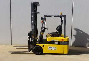 1.8T Battery Electric 3 Wheel Battery Electric Forklift