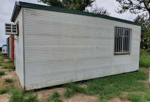 AUSTRALIAN PORTABLE BUILDINGS TRANSPORTABLE SITE OFFICE