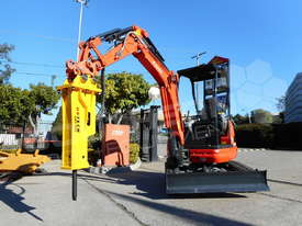Silence Hydraulic Hammers UBT20S Excavator rock breaker ATTUBT - picture0' - Click to enlarge