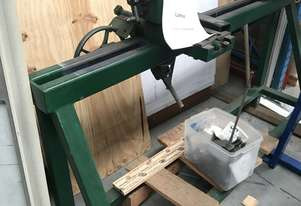 Large Woodworking Lathe