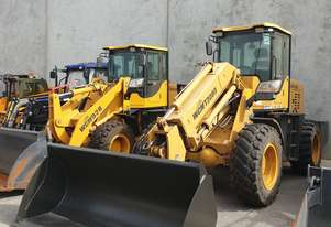 Used WCM T3000 7 Ton Wheel Loader (W4592) with GP Bucket & Hyd Spacing Pallet Fork