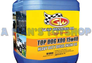 OIL 15W40 DIESEL 10LTR XDO TOP DOG