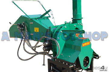 WOOD CHIPPER PTO 200MM HYDRAULIC FEED