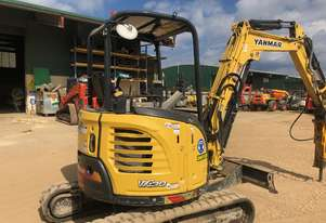 Used 2014 3T Yanmar VIO306BP with 1438 Hours in Good Condition