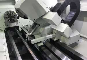 Ajax 510Y x 3100 with 130mm Bore Y Axis CNC Lathe available for immediate delivery