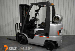 Nissan 2.5 Tonne Compact Forklift Stubby Series LPG 4750mm Lift Height Container Mast