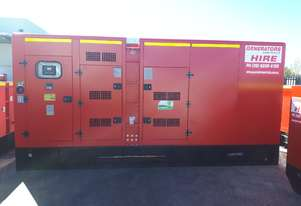 500 KVA Cummins Powered Generator Available 500KVA