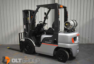 Nissan PL0 2.5 Tonne Forklift Container Mast Sideshift 4300mm Lift Height
