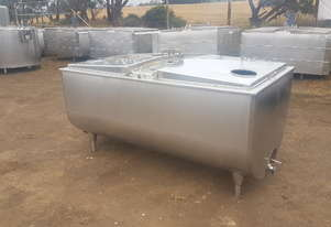 STAINLESS STEEL TANK, MILK VAT 1150 LT