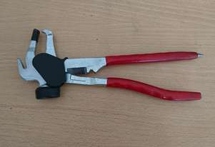 Wheel weight hammer/pliers