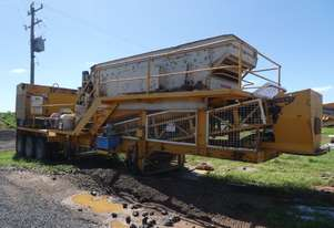 EL JAY RC36 Trailer Mounted Cone Crusher With Screen and Genset