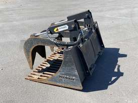 Skid Steer 1650mm Rock Grapple Bucket - picture1' - Click to enlarge