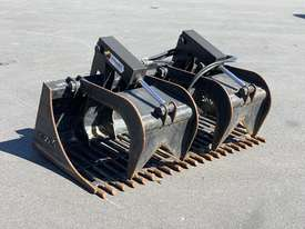 Skid Steer 1650mm Rock Grapple Bucket - picture0' - Click to enlarge