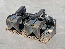Skid Steer 1650mm Rock Grapple Bucket - picture2' - Click to enlarge