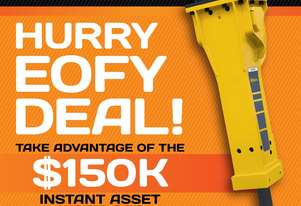 Instant Asset Write-Off up to 150k. Productivity Boost with Epiroc, Erkat & MTB Attachments