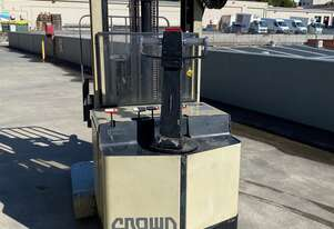 Crown 30WRTL126AD walk behind forklift with reach