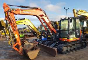 KUBOTA KX080 8T EXCAVATOR WITH LOW 2050 HOURS