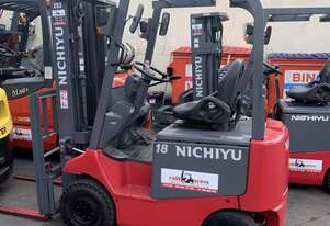 Nichiyu 1.8 tonne Unit - Side Shift - Container Mast - Warranty & Finance Available