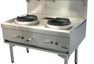 Goldstein CWA2 Air Cooled Gas Wok - Double