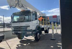 In W.A ready for hire.    ACM280E - 28m 66kV insulated EWP on Mercedes-Benz Atego 1626