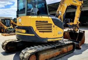 YANMAR VIO80 8T EXCAVATOR 2013 WITH TILT HITCH AND 3370 HOURS
