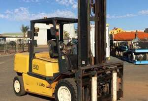 Yale 2010 GLP50MH, 5Ton (5m Lift) LowHrs Diesel Forklift