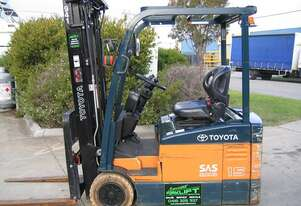 ** RENT NOW **   TOYOTA 7FBE15 3 Wheeled Battery Electric