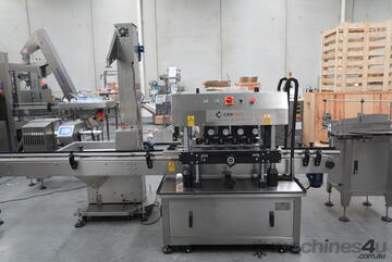 Automatic In-Line Capping Machine