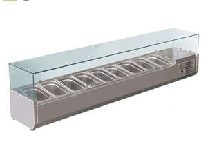 BAIN MARIE, 9 X 1/3 GN TRAYS INCLUDED VRX-2000T