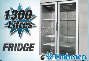 DOUBLE GLASS DOOR FRIDGE 1300L - MCC02-GL