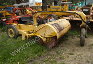 2400mm wide tow behind road broom self propelled