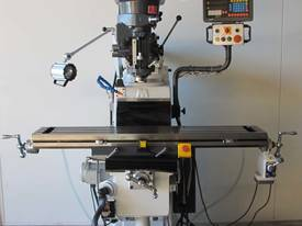 Z Axis Rapid Feed, Variable Speed, Digital Readout