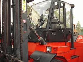 Hire 2001 Linde H120d Empty Container Handler In Wetherill