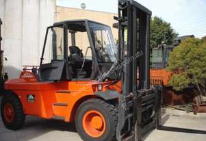 HIRE or SALE - 12 T Linde H120 & side shifting fork positioner