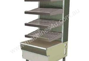 FPG MC-DIS-SS-600 Display Ambient Stainless Steel Tray Unit - 600mm