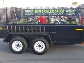 12x6 Hydraulic Tipper / Dump Trailer Tandem 3T - picture0' - Click to enlarge