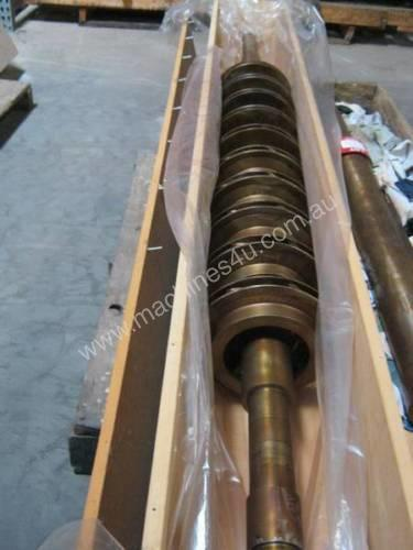 Centrifugal pump rotor 10 x 340mm impellers on 23