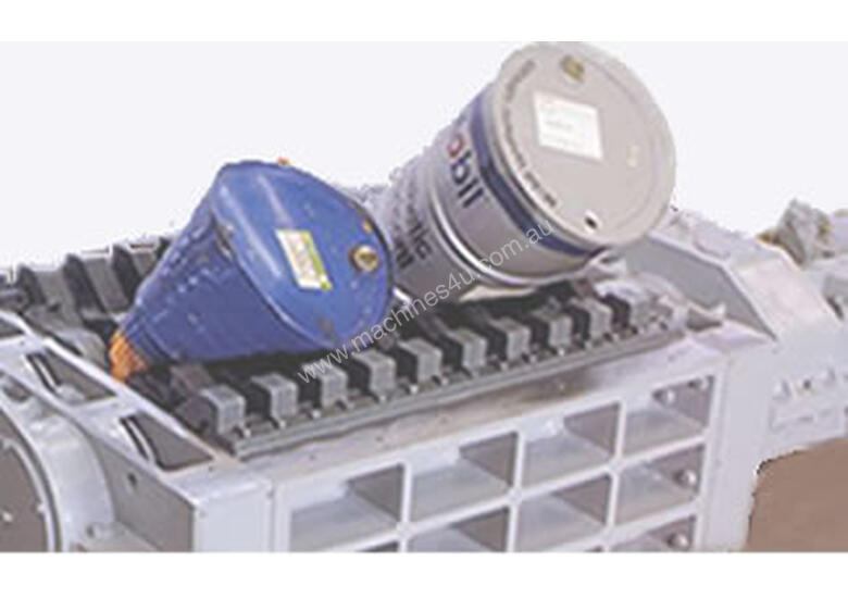 Shredders for Metal Recycling, up to Four Shaft