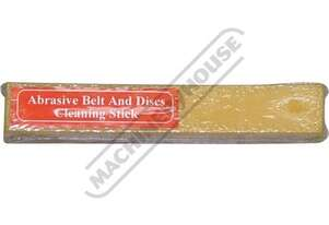 G183 Abrasive Belt & Disc Cleaning Stick 200 x 32 x 32mm Use This Cleaning Stick For Refreshing Your