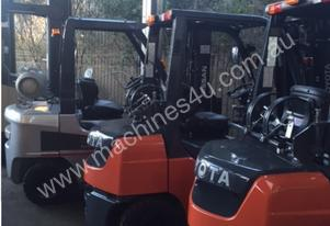 Forklifts Hire From As Little As $140/pw + gst