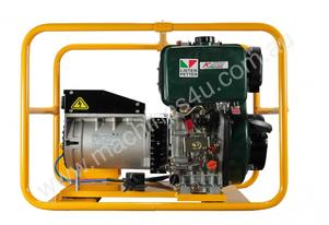 6,000W POWERLITE GENERATOR WITH BATTERY