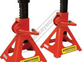 ARMAS3000R Professional Vehicle Axle Stands 3000kg Working Load Capacity per Stand - picture0' - Click to enlarge