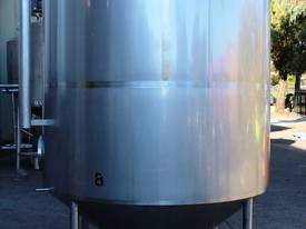 Stainless Steel Mixing Tank - Capacity 6,500 Lt. - picture0' - Click to enlarge