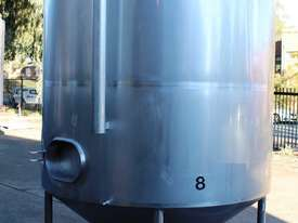 Stainless Steel Mixing Tank - Capacity 6,500 Lt. - picture1' - Click to enlarge