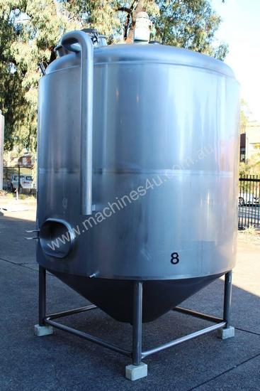 Stainless Steel Mixing Tank - Capacity 6,500 Lt.
