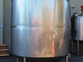 Stainless Steel Mixing Tank - Capacity 6,500 Lt. - picture2' - Click to enlarge