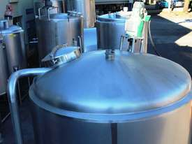 Stainless Steel Mixing Tank - Capacity 6,500 Lt. - picture3' - Click to enlarge