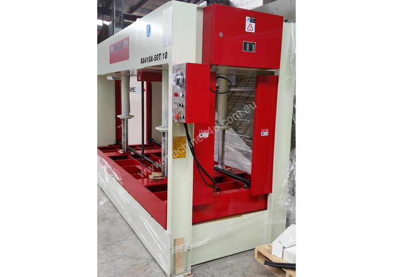50T HYDRAULIC COLD PRESS 3050 x 1300mm Platen *AVAILABLE FOR DELIVERY NOW*