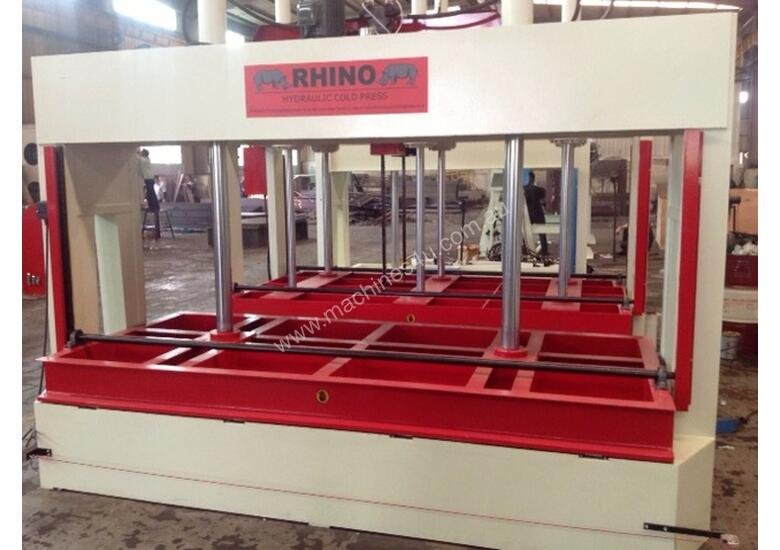 RHINO 50T HYDRAULIC COLD PRESS 3050 x 1300mm Platen *AVAILABLE FOR DELIVERY NOW*