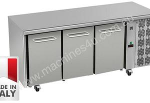 Three Door Commercial Worktop/ Under Bench Fridge